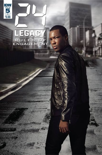24 Legacy Rules of Engagement #5 Cover B [IDW Comic] LARGE