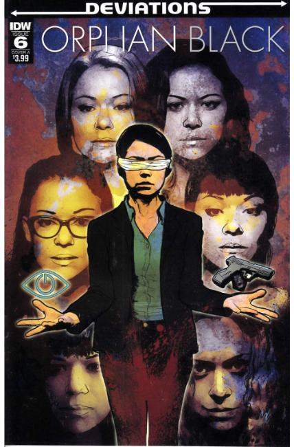 Orphan Black Deviations #6 Cover A [IDW Comic]