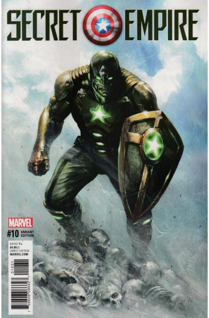 Secret Empire #10 Dell'Otto Civil Warrior Variant Cover [Marvel Comic]