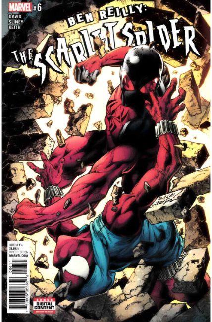 Ben Reilly Scarlet Spider #6 [Marvel Comic] LARGE