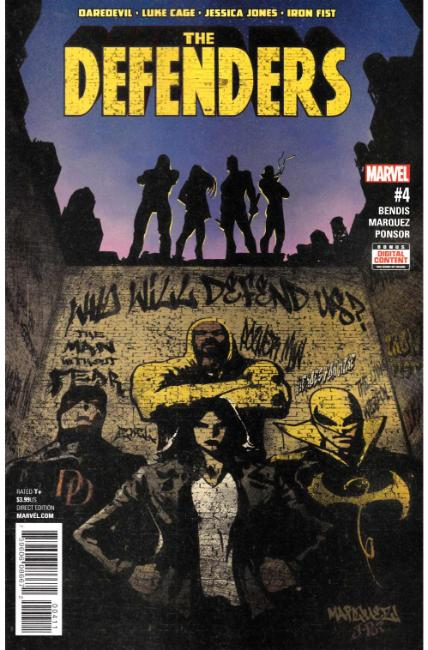 Defenders #4 [Marvel Comic]