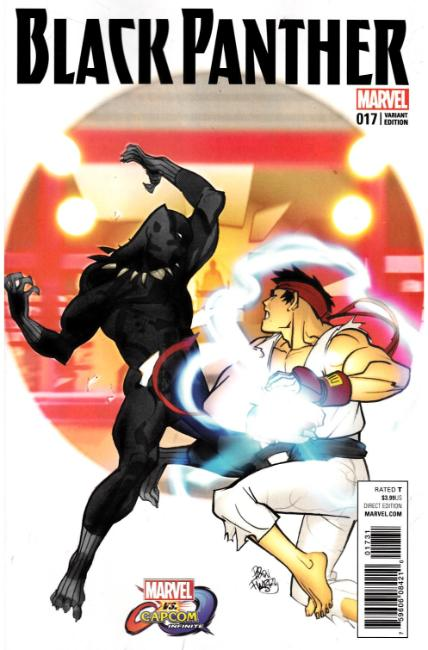 Black Panther #17 Ferry Marvel vs Capcom Variant Cover [Marvel Comic] LARGE