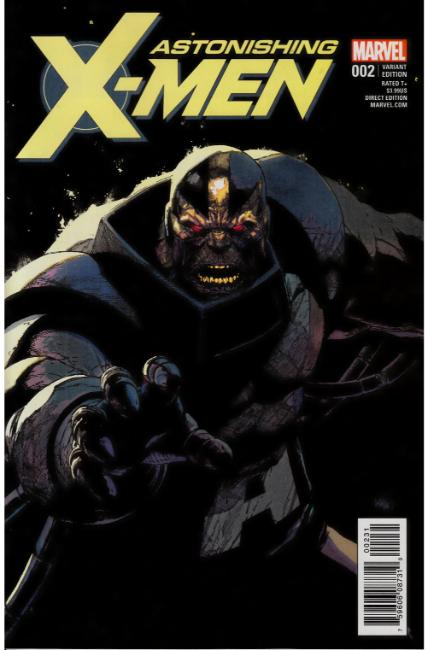 Astonishing X-Men #2 Yu Villain Variant Cover [Marvel Comic]
