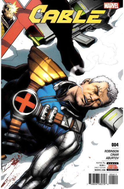 Cable #4 [Marvel Comic]