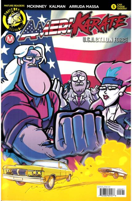 Amerikarate #5 Cover B [Action Lab Comic]