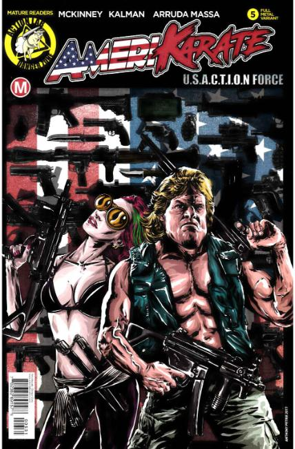 Amerikarate #5 Cover C [Action Lab Comic] THUMBNAIL