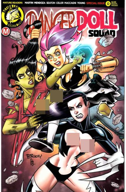 Danger Doll Squad #0 Cover F- Mckay Risque [Danger Zone Comic] LARGE