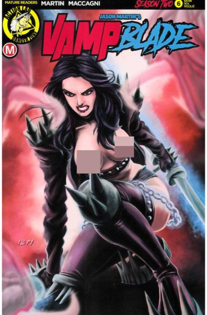 Vampblade Season Two #6 Cover F- 90s Risque [Danger Zone Comic] THUMBNAIL