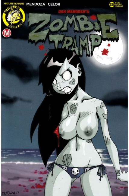 Zombie Tramp Ongoing #38 Cover B- Mendoza Risque [Action Lab Comic]_THUMBNAIL
