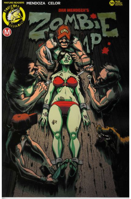 Zombie Tramp Ongoing #38 Cover C- Dinner Time [Action Lab Comic]_THUMBNAIL