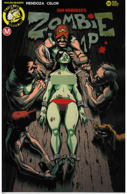 Zombie Tramp Ongoing #38 Cover D- Risque Dinner Time [Action Lab Comic]_THUMBNAIL