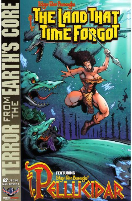 Land That Time Forgot From Earths Core #2 Cover A [American Myth Comic] THUMBNAIL
