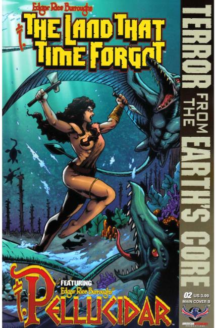 Land That Time Forgot From Earths Core #2 Cover B [American Myth Comic] THUMBNAIL