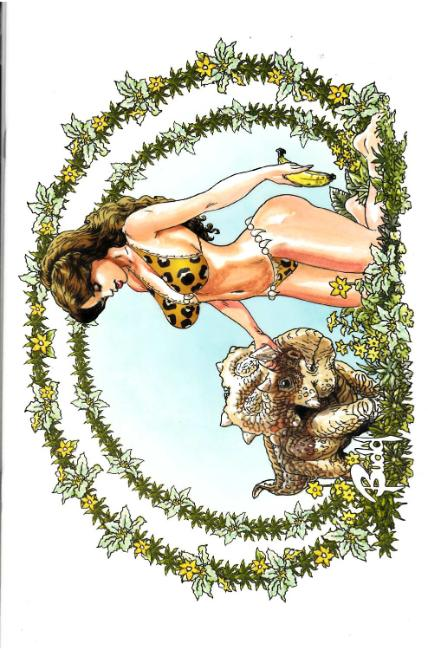 Cavewoman Carries Oasis Diary #1 Cover D- Root [Amryl Comic]_THUMBNAIL