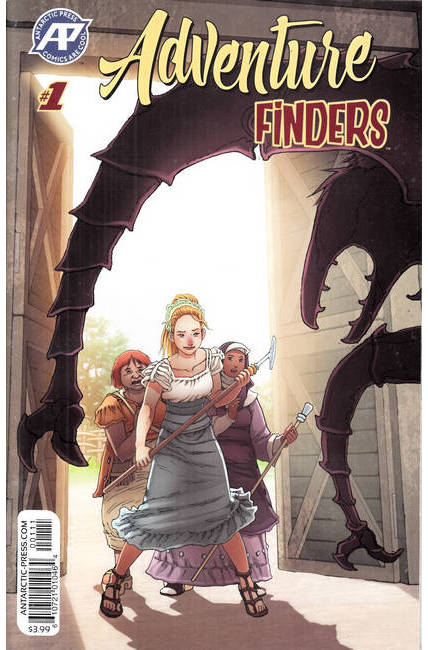 Adventure Finders #1 [Antarctic Comic] LARGE