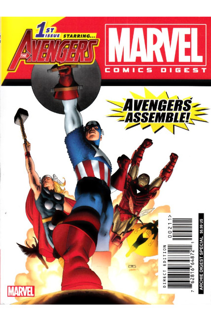 Marvel Comics Digest #2 The Avengers Very Fine (8.0) [Archie Comic]