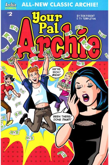 All New Classic Archie Your Pal Archie #2 Cover A [Archie Comic]_THUMBNAIL