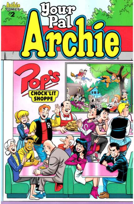 All New Classic Archie Your Pal Archie #2 Cover B [Archie Comic]