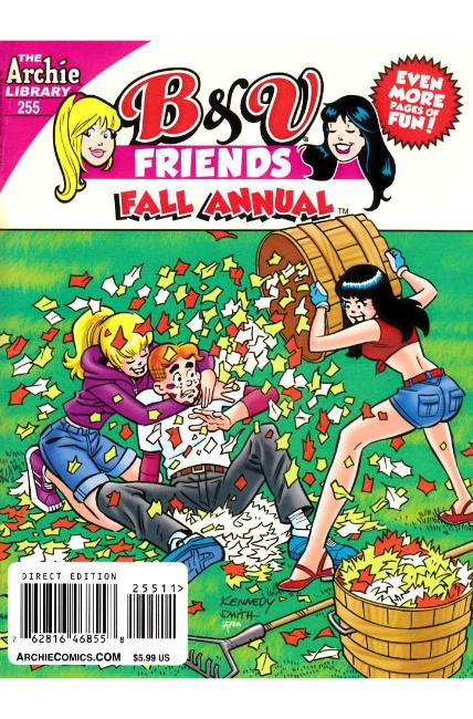 B & V Friends Double Digest #255 Fall Annual Near Mint (9.4)  [Archie Comic] THUMBNAIL