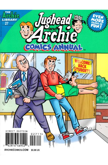 Jughead & Archie Fall Annual Digest #27 [Archie Comic] THUMBNAIL