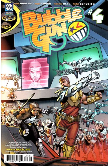 Bubblegun Volume 2 #4 Cover C [Aspen Comic] THUMBNAIL