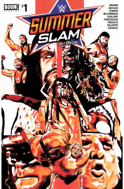 WWE Summer Slam 2017 #1 [Boom Comic]
