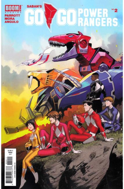 Go Go Power Rangers #2 Cover A [Boom Comic] THUMBNAIL