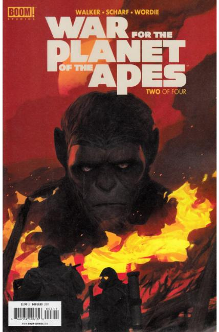 War For Planet of the Apes #2 [Boom Comic] LARGE