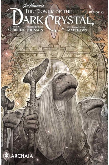 Jim Henson Power of the Dark Crystal #6 Subscription Cover [Boom Comic] LARGE