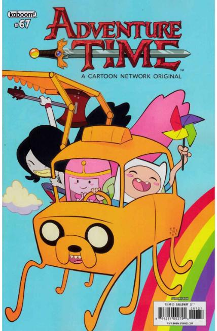 Adventure Time #67 Subscription Cover [Boom Comic]