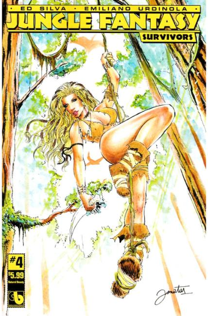 Jungle Fantasy Survivors #4 Natural Beauty Cover [Boundless Comic]