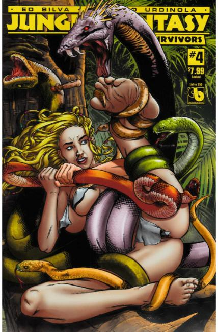 Jungle Fantasy Survivors #4 Snaked Cover [Boundless Comic] THUMBNAIL