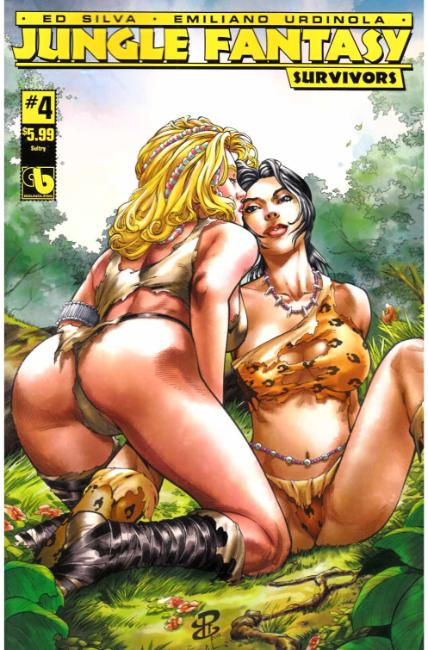 Jungle Fantasy Survivors #4 Sultry Cover [Boundless Comic] THUMBNAIL