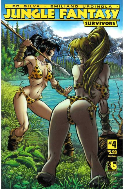 Jungle Fantasy Survivors #4 Bikini Babes Cover [Boundless Comic] THUMBNAIL