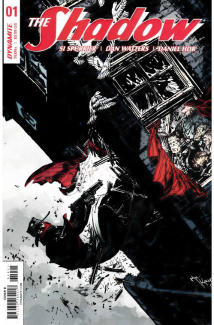 Shadow #1 Cover B [Dynamite Comic] THUMBNAIL