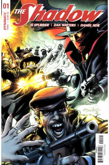 Shadow #1 Cover D [Dynamite Comic] THUMBNAIL