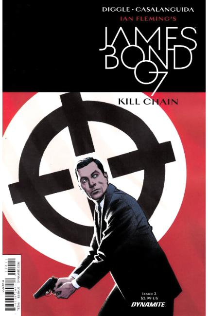 James Bond Kill Chain #2 Cover A [Dynamite Comic] THUMBNAIL