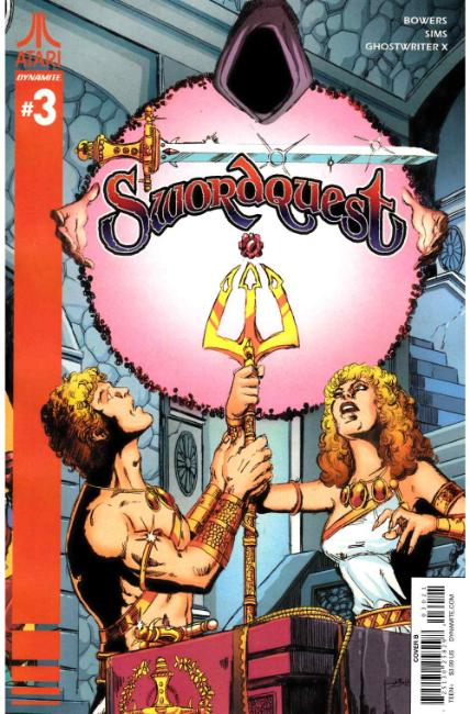 Swordquest #3 Cover B [Dynamite Comic]