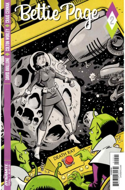 Bettie Page #2 Cover B [Dynamite Comic] LARGE