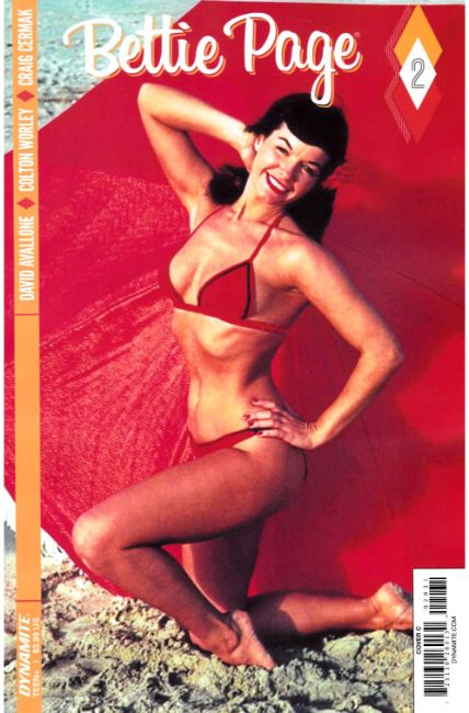 Bettie Page #2 Cover C [Dynamite Comic]