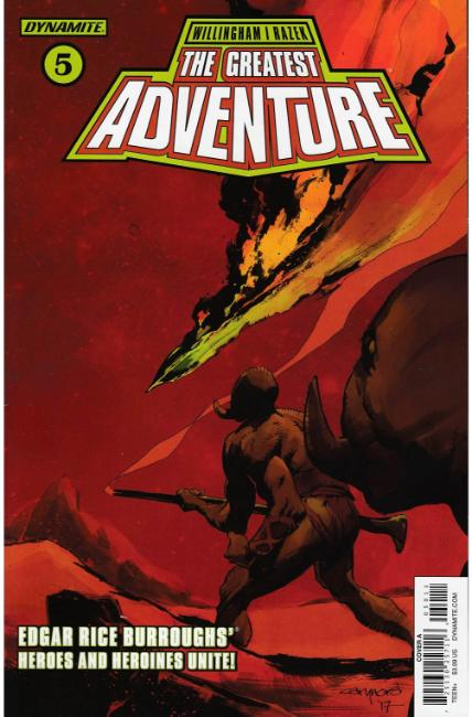 Greatest Adventure #5 Cover A [Dynamite Comic] LARGE