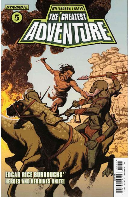 Greatest Adventure #5 Cover B [Dynamite Comic] THUMBNAIL