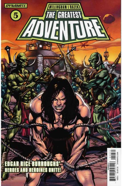 Greatest Adventure #5 Cover C [Dynamite Comic] LARGE