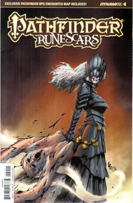 Pathfinder Runescars #4 Cover A [Dynamite Comic] THUMBNAIL