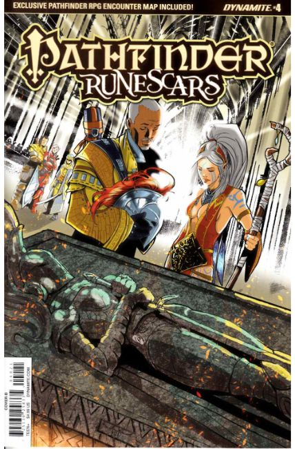 Pathfinder Runescars #4 Cover B [Dynamite Comic]_THUMBNAIL