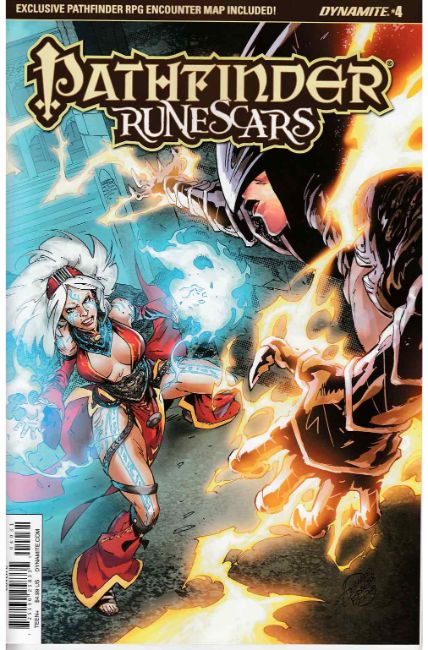Pathfinder Runescars #4 Cover C [Dynamite Comic] THUMBNAIL