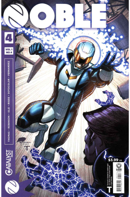 Catalyst Prime Noble #4 [Lion Forge Comic] LARGE