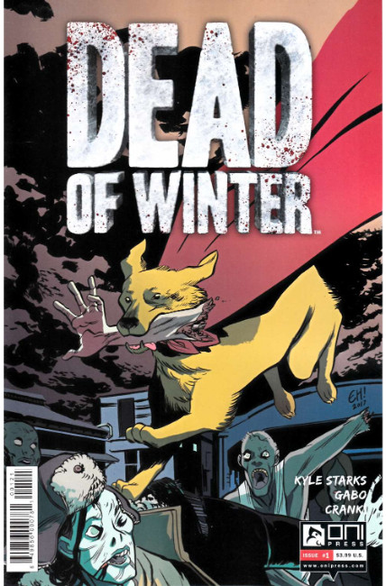 Dead of Winter #1 Henderson Variant Cover [Oni Press Comic]