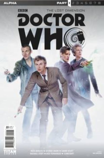 Doctor Who Lost Dimension Alpha #1 Cover B [Titan Comic]_THUMBNAIL