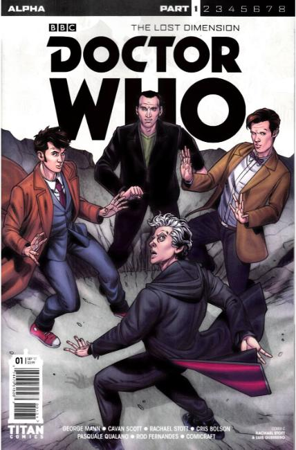 Doctor Who Lost Dimension Alpha #1 Cover C [Titan Comic] THUMBNAIL
